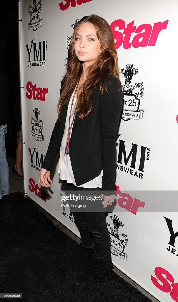 Daveigh Chase arrives to the Star Magazine Celebration of the Young Hollywood Issue at Apple Lounge in West Hollywood, CA on March 11, 2009.
