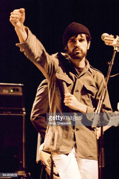 Davendra Banhart performs on stage at Shepherds Bush Empire on December 15 2009 in London England