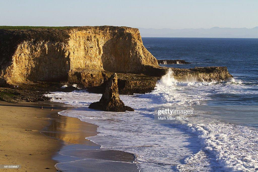 Davenport Beach Park, California, USA