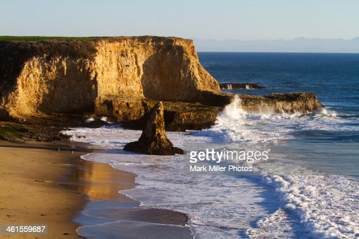 Davenport Beach Park, California, USA