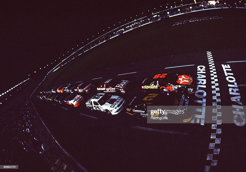 Davey Allison won The Winston All Star race coming from 3rd on the last lap after Kyle Petty and Dale Earnhardt got together in Turn 4 Rusty Wallace...