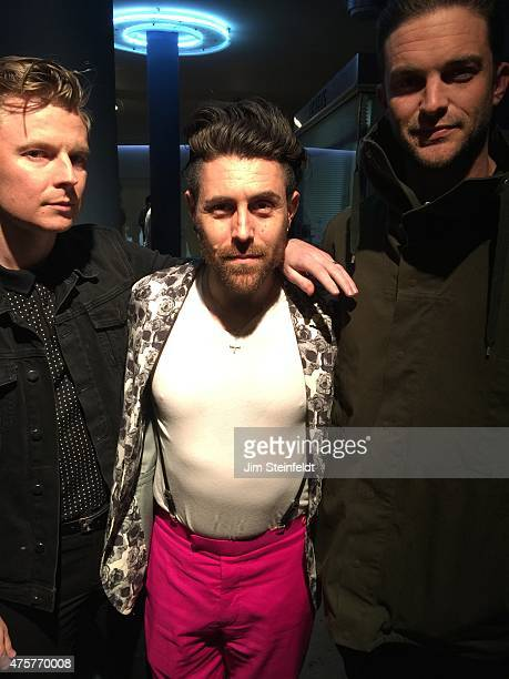 Davey Havok and friends attend The Replacements at the Hollywood Palladium on April 15 2015