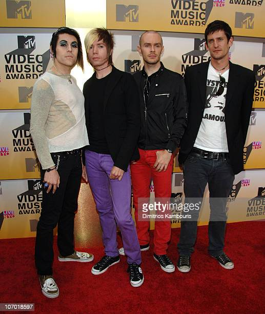 Davey Havok Jade Puget Hunter Burgan and Adam Carson of AFI