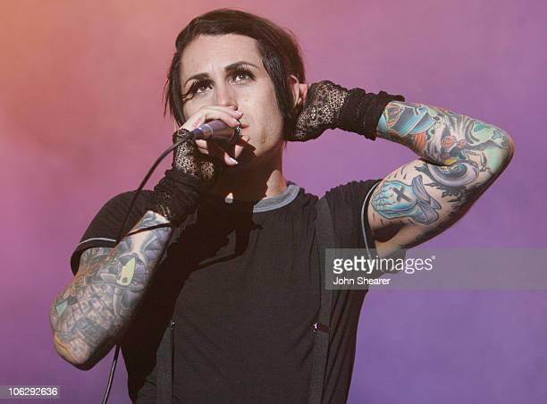 Davey Havok of AFI during Live 105's 'BFD' Concert 2006 at Shoreline Amphitheatre in Mountain View California United States