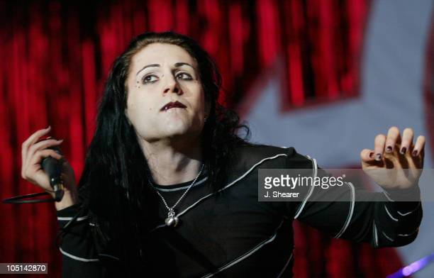 Davey Havok of AFI during Live 105's 'Big Friggin Deal' Concert 2003 at Shoreline Amphitheatre in Mountain View California United States