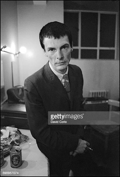 Davey Payne backstage at Colston Hall Bristol 1979