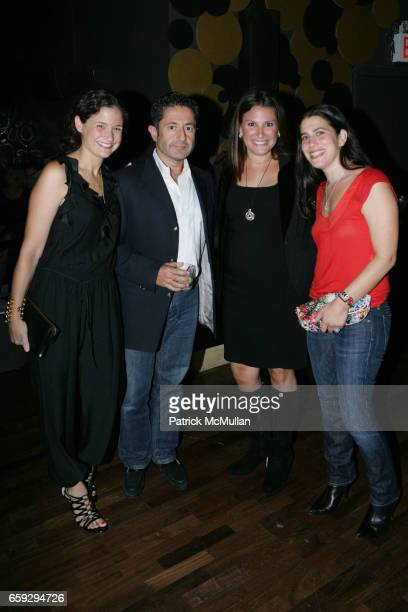 Davi Tardie guest guest and guest attend Grand Opening of La Pomme at 37 W 26th St on September 17 2009 in New York City