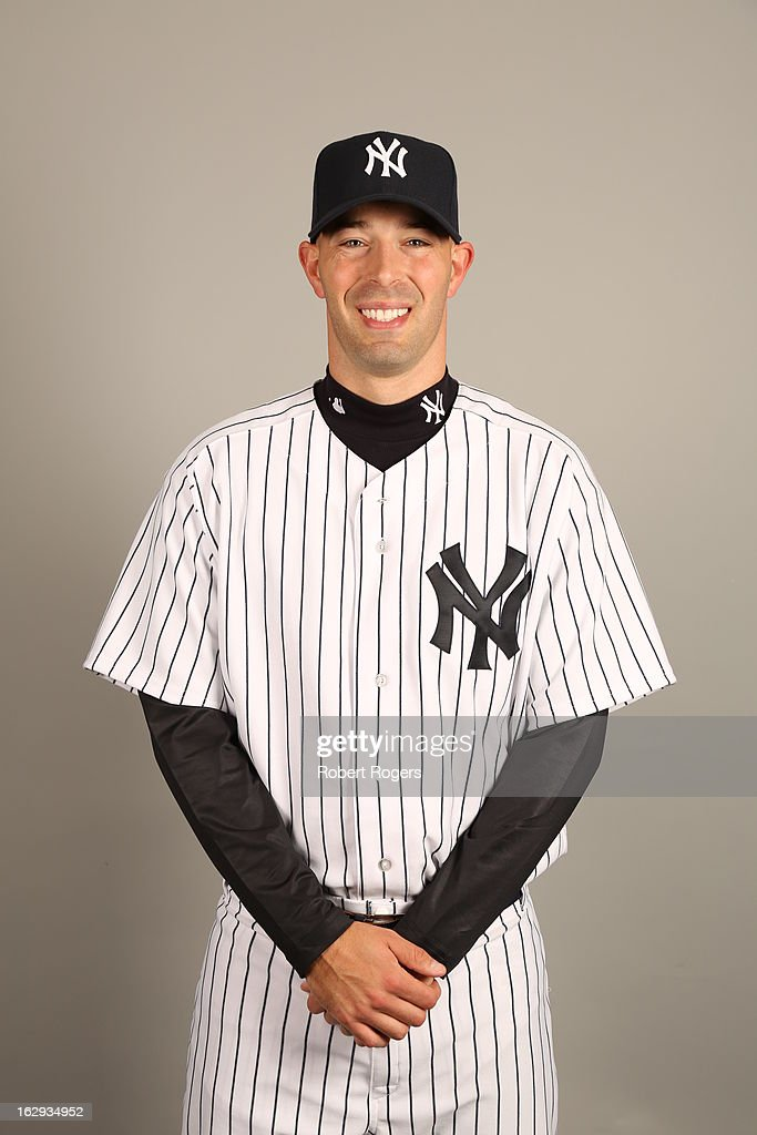 <a gi-track='captionPersonalityLinkClicked' href=/galleries/search?phrase=David+Aardsma&family=editorial&specificpeople=233636 ng-click='$event.stopPropagation()'>David Aardsma</a> #34 of the New York Yankees poses during Photo Day on February 20, 2013 at George M. Steinbrenner Field in Tampa, Florida.