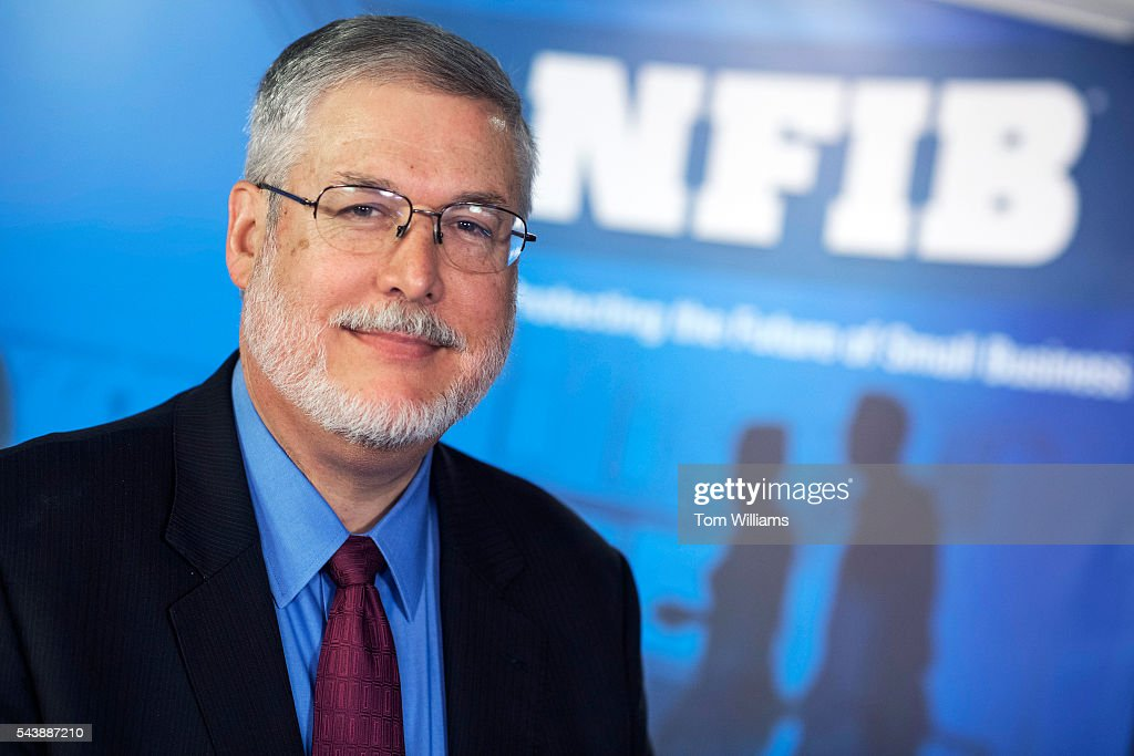 David Addington of the National Federation of Independent Business, is photographed in his downtown office, June 30, 2016.
