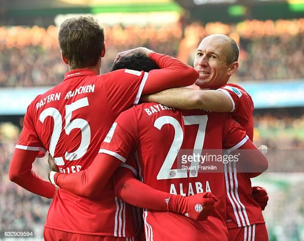 Werder Bremen v Bayern Muenchen - Bundesliga : News Photo