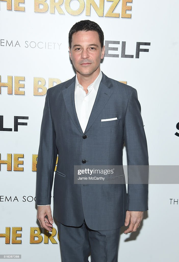 David Alan Basche attends a screening of Sony Pictures Classics' 'The Bronze' hosted by Cinema Society & SELF at Metrograph on March 17, 2016 in New York City.