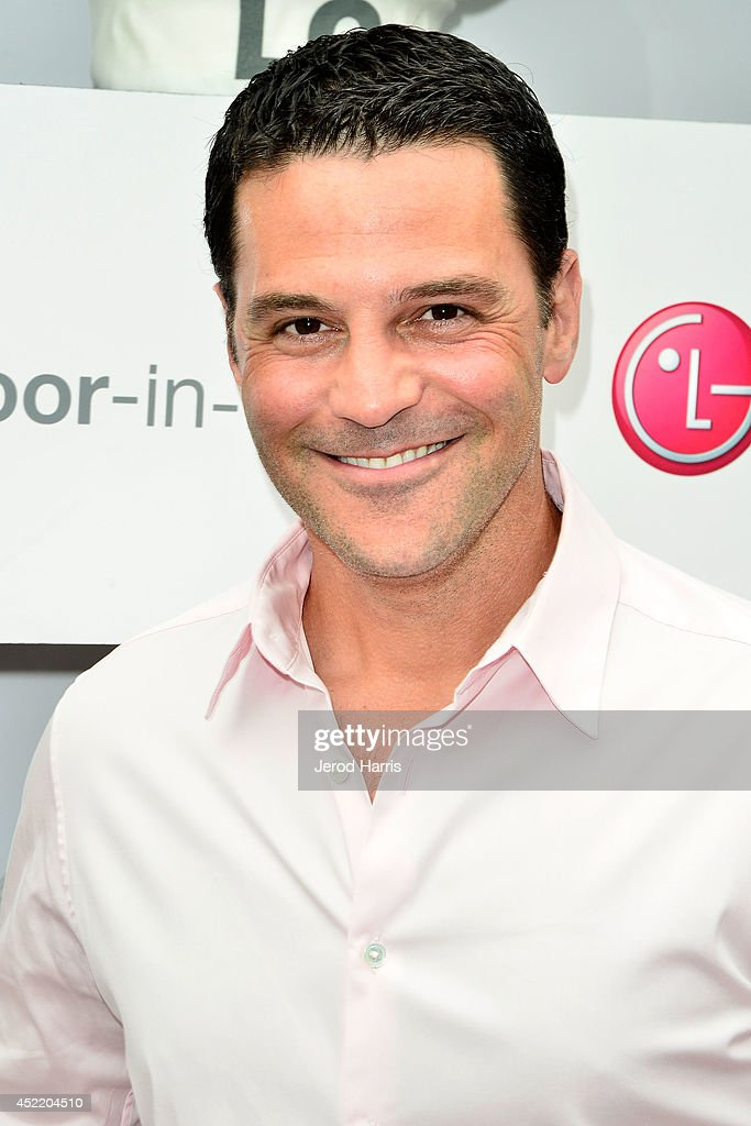 David Alan Basche attends LG and Chef Sandra Lee Host LG Junior Chef Academy to celebrate the launch of the Door-in-Door Refrigerator with CustomChill, Benefiting No Kid Hungry at The Washbow on July 15, 2014 in Culver City, California.