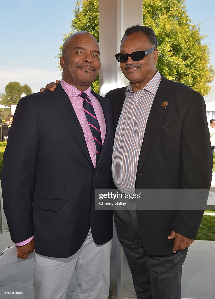 David Alan Grier and Rev. Jesse Jackson attend the 1st Annual Children Mending Hearts Style Sunday on June 9, 2013 in Beverly Hills, California.