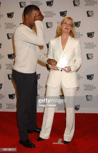 David Alan Grier Bonnie Hunt during '5th Annual Family Television Awards' at Beverly Hilton Hotel in Beverly Hills California United States