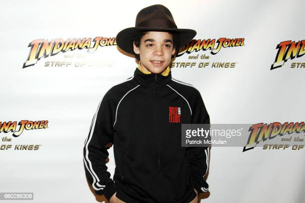David Alvarez attends PreRelease Party for LucasArts New Videogame INDIANA JONES and The STAFF OF KINGS at Nintendo World Store on June 8 2009 in New...