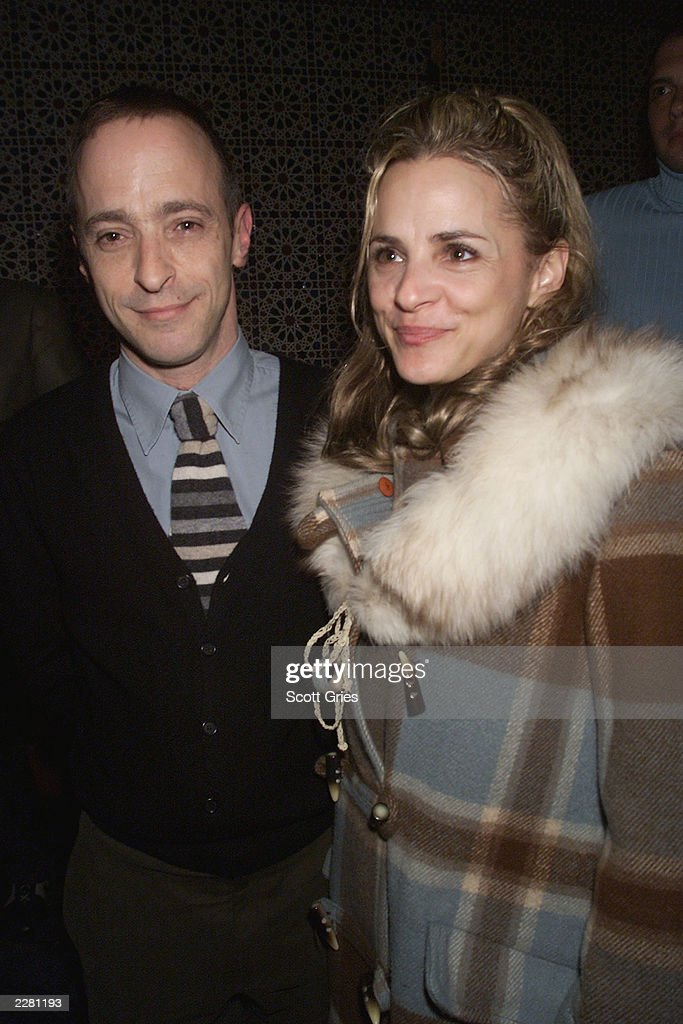 David and <a gi-track='captionPersonalityLinkClicked' href=/galleries/search?phrase=Amy+Sedaris&family=editorial&specificpeople=209343 ng-click='$event.stopPropagation()'>Amy Sedaris</a> during the party for the opening of the new off Broadway play 'The Book Of Liz' at Fez in New York City. 3/26/01 Photo by Scott Gries/ImageDirect