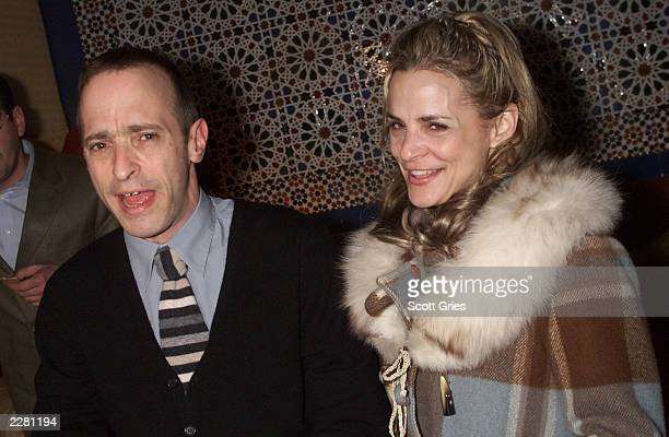 David and Amy Sedaris during the party for the opening of the new off Broadway play 'The Book Of Liz' at Fez in New York City 3/26/01 Photo by Scott...