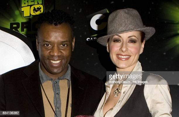 David and Carrie Grant arrive for the premiere of 'Ben 10 Race Against Time' at the Vue in Leicester Square London