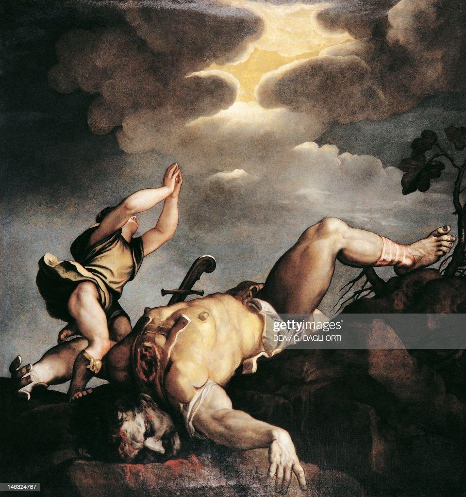 David and Goliath 15421544 by Titian Church of Santa Maria della Salute Venice