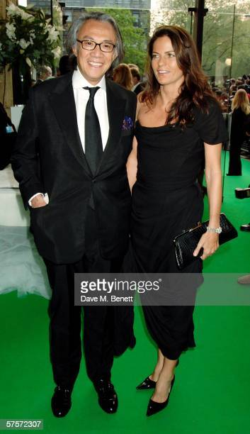 David and Lucy Tang attend the Dream Auction Full Stop party designed to launch NSPCC's There4Me online service an interactive but confidential...