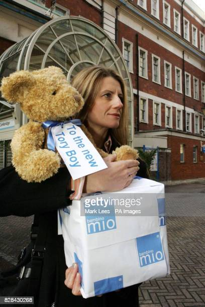 David and Samantha Cameron's new son should soon be playing his part in reducing the number of nappies that end up in landfills thanks to a delivery...