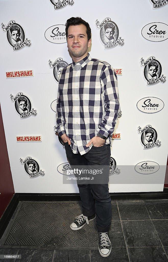 David Andalman attends 'Milkshake' Official Cast And Filmmakers Brunch Sponsored By Siren on January 20, 2013 in Park City, Utah.