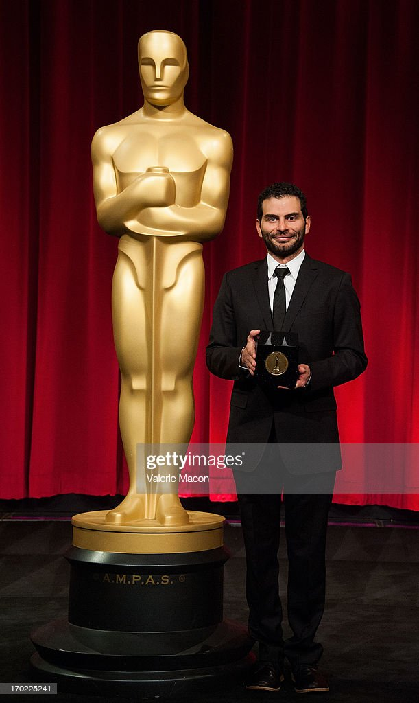 David Aristizabal attends The Academy Of Motion Picture Arts And Sciences' 40th Annual Student Academy Awards Ceremony at AMPAS Samuel Goldwyn Theater on June 8, 2013 in Beverly Hills, California.