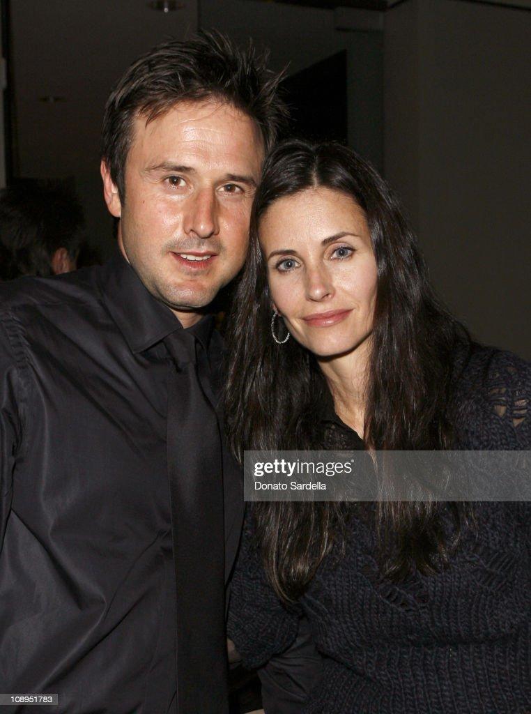 David Arquette and Courteney Cox Arquette *EXCLUSIVE*