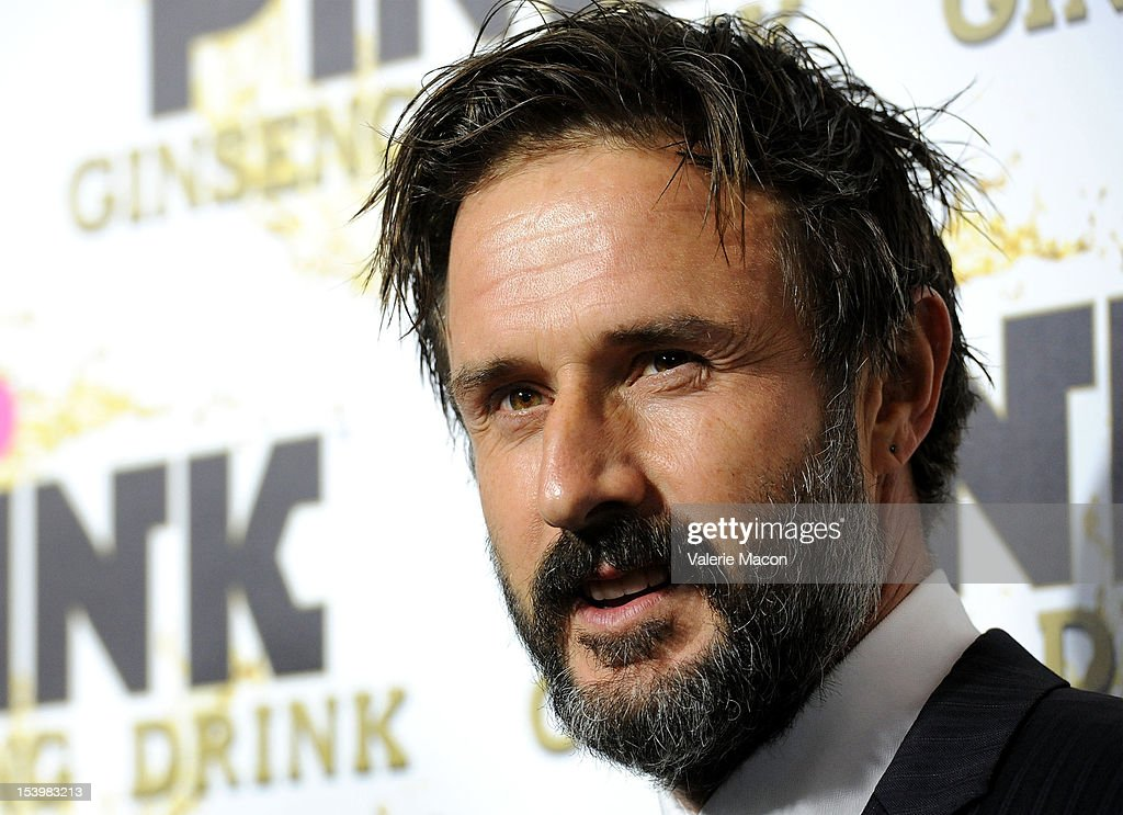 <a gi-track='captionPersonalityLinkClicked' href=/galleries/search?phrase=David+Arquette&family=editorial&specificpeople=201740 ng-click='$event.stopPropagation()'>David Arquette</a> arrives at Mr. Pink Ginseng Drink Launch Party on October 11, 2012 in Beverly Hills, California.