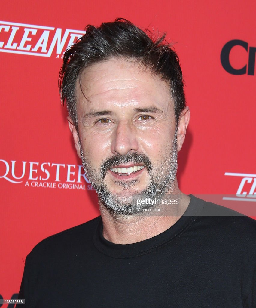 David Arquette arrives at the Crackle Original Series' 'Cleaners' and 'Sequestered' Summer premiere celebration held at 1 OAK on August 14 2014 in...
