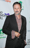 David Arquette arrives at The Imagine Ball held at House of Blues Sunset Strip on August 6 2014 in West Hollywood California