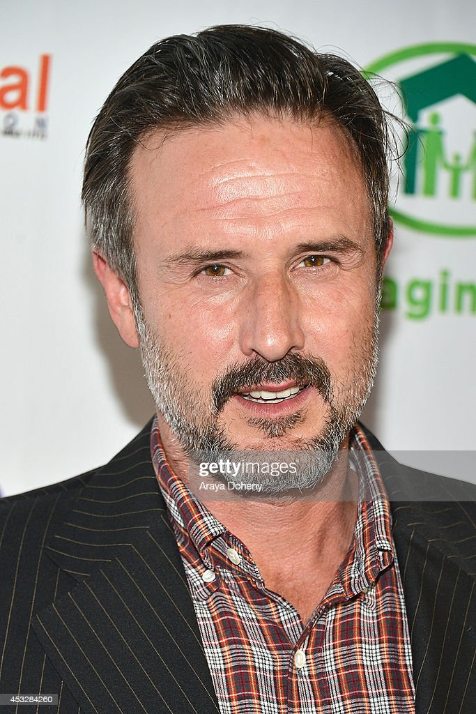 <a gi-track='captionPersonalityLinkClicked' href=/galleries/search?phrase=David+Arquette&family=editorial&specificpeople=201740 ng-click='$event.stopPropagation()'>David Arquette</a> arrives at The Imagine Ball held at House of Blues Sunset Strip on August 6, 2014 in West Hollywood, California.