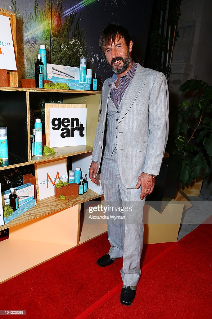 <a gi-track='captionPersonalityLinkClicked' href=/galleries/search?phrase=David+Arquette&family=editorial&specificpeople=201740 ng-click='$event.stopPropagation()'>David Arquette</a> at The Gen Art 14th Annual Fresh Faces In Fashion Presented By Moroccan oil held at Vibiana on October 17, 2012 in Los Angeles, California.