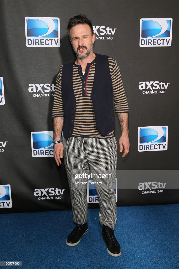 David Arquette attends DIRECTV Super Saturday Night Featuring Special Guest Justin Timberlake & Co-Hosted By Mark Cuban's AXS TV on February 2, 2013 in New Orleans, Louisiana.