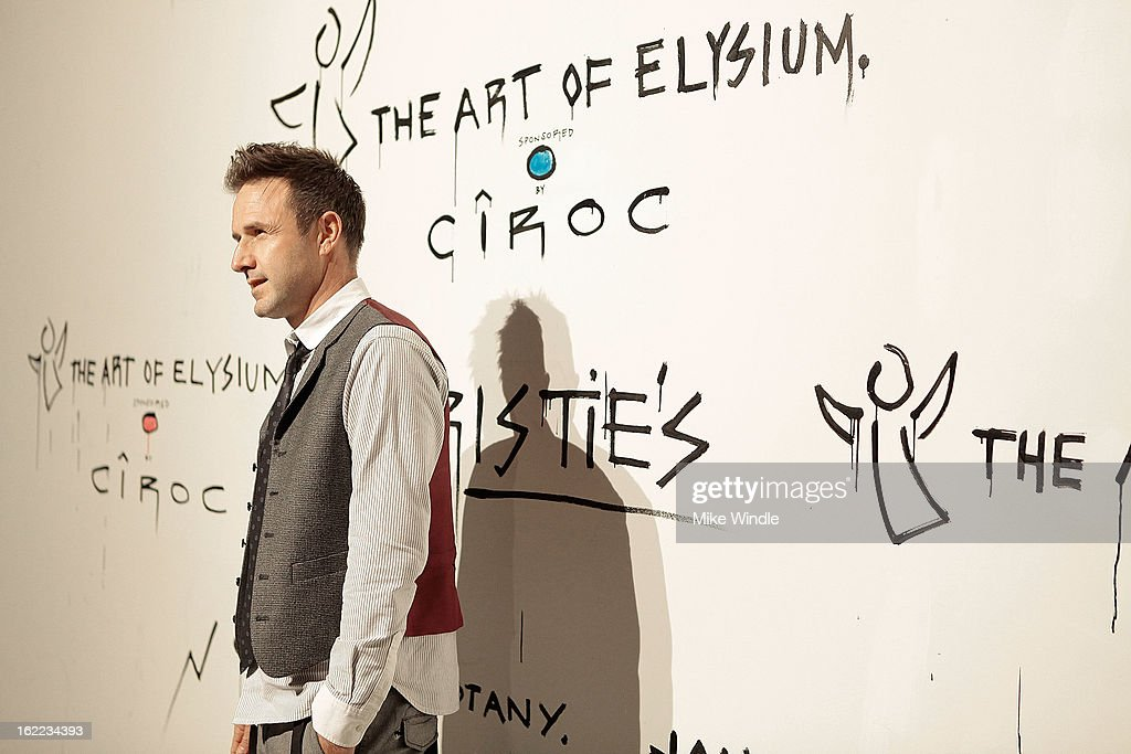 David Arquette attends The Art Of Elysium's 6th annual 'Pieces Of Heaven' powered by Ciroc Ultra Premium Vodka at Ace Museum on February 20, 2013 in Los Angeles, California.
