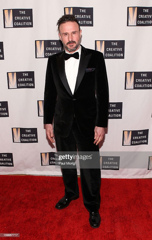 David Arquette attends The Creative Coalition's 2013 Inaugural Ball on January 21, 2013 in Washington, United States.