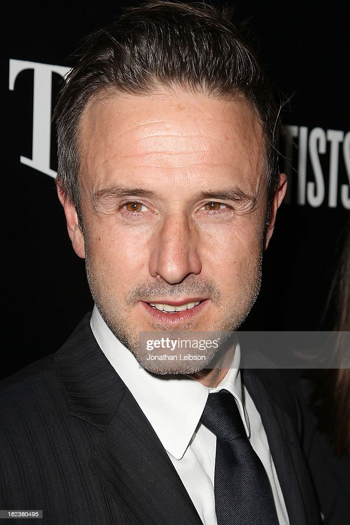 David Arquette attends the Hollywood Domino And Bovet 1822 Gala Benefiting Artists For Peace And Justice at Sunset Tower on February 21, 2013 in West Hollywood, California.