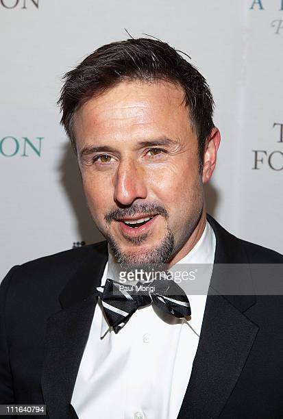 David Arquette attends The Huffington Post preinaugural ball attend The Newseum on January 19 2009 in Washington DC