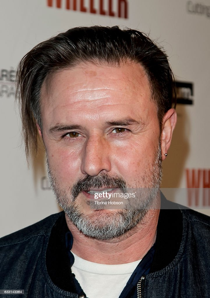 David Arquette attends the premiere of 'Wheeler' at the Vista Theatre on January 30, 2017 in Los Angeles, California.