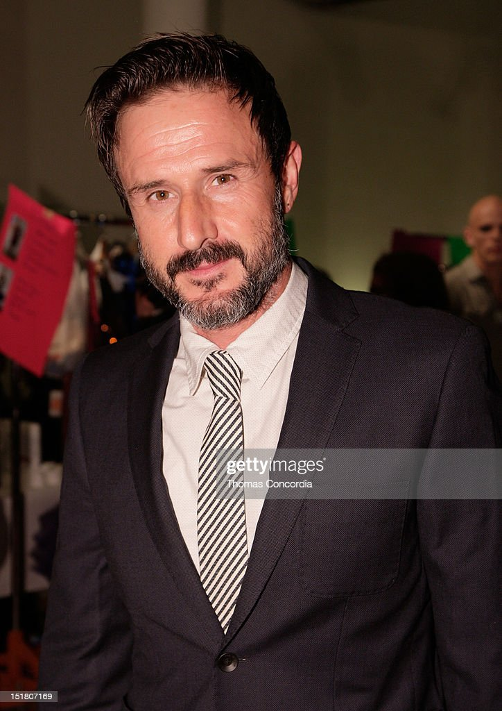 David Arquette attends the Tumbler and Tipsy by Michael Kuluva fashion show presented by UbiSoft's 'Just Dance 4' at STYLE360 in the Metropolitan...