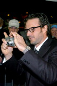 David Arquette during 2004 Sundance Film Festival 'Never Die Alone' Premiere at Eccles in Park City Utah United States