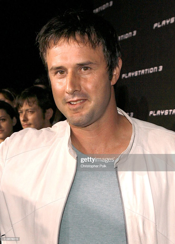 David Arquette during PLAYSTATION 3 Launch - Red Carpet at 9900 Wilshire Blvd. in Los Angeles, California, United States.