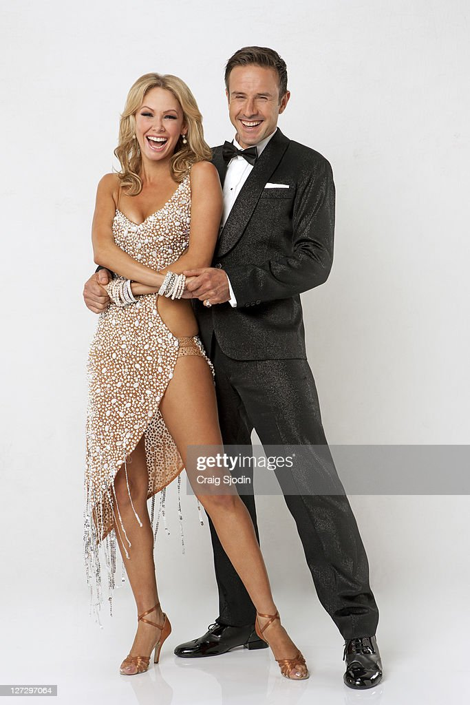 STARS - (EXCLUSIVE TO GETTY IMAGES UNTIL ) KYM JOHNSON & DAVID ARQUETTE -- David Arquette is an actor, writer, director, producer and soon to be dancer. He joins two-time champion KYM JOHNSON, who returns for her 10th season. A dynamic lineup of stars will take the stage performing either the Cha Cha Cha or The Viennese Waltz for the two-hour season premiere of 'Dancing with the Stars,' MONDAY, SEPTEMBER 19 (8:00-10:01 p.m., ET) on the ABC Television Network.