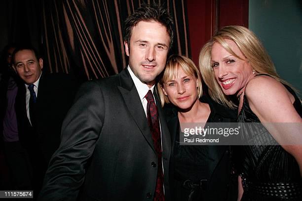 David Arquette Patricia Arquette and Alexis Arquette