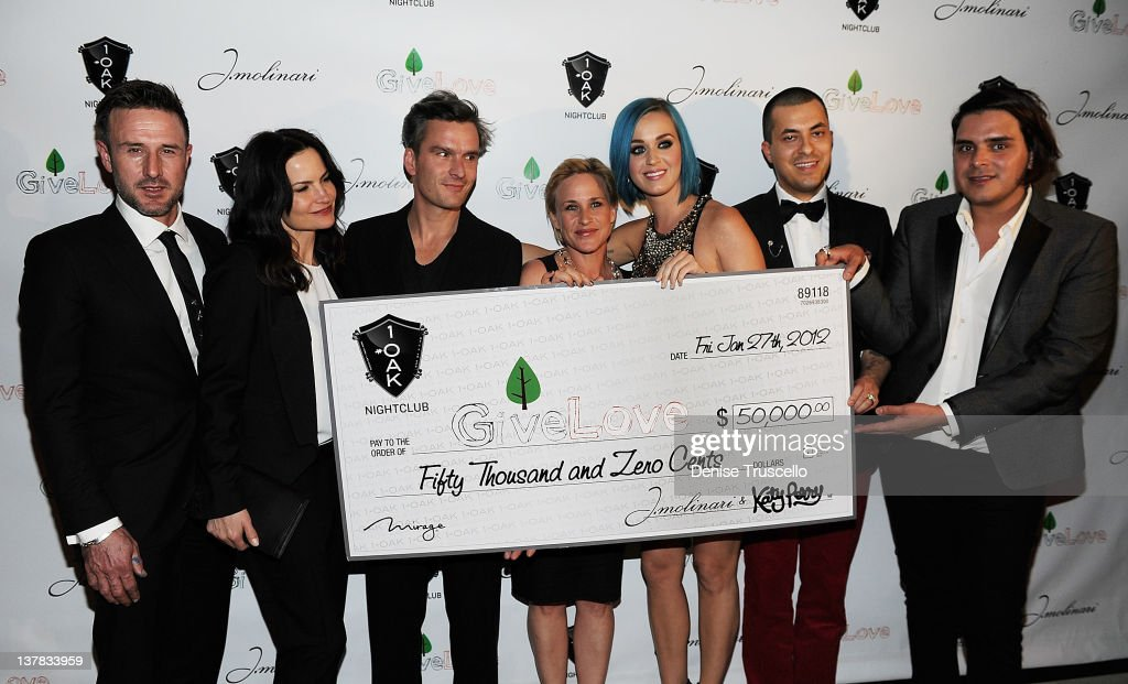 1 OAK Las Vegas Kicks Off Grand Opening Weekend And GiveLove Event With Co-Hosts Katy Perry And J.Molinari Jewelry