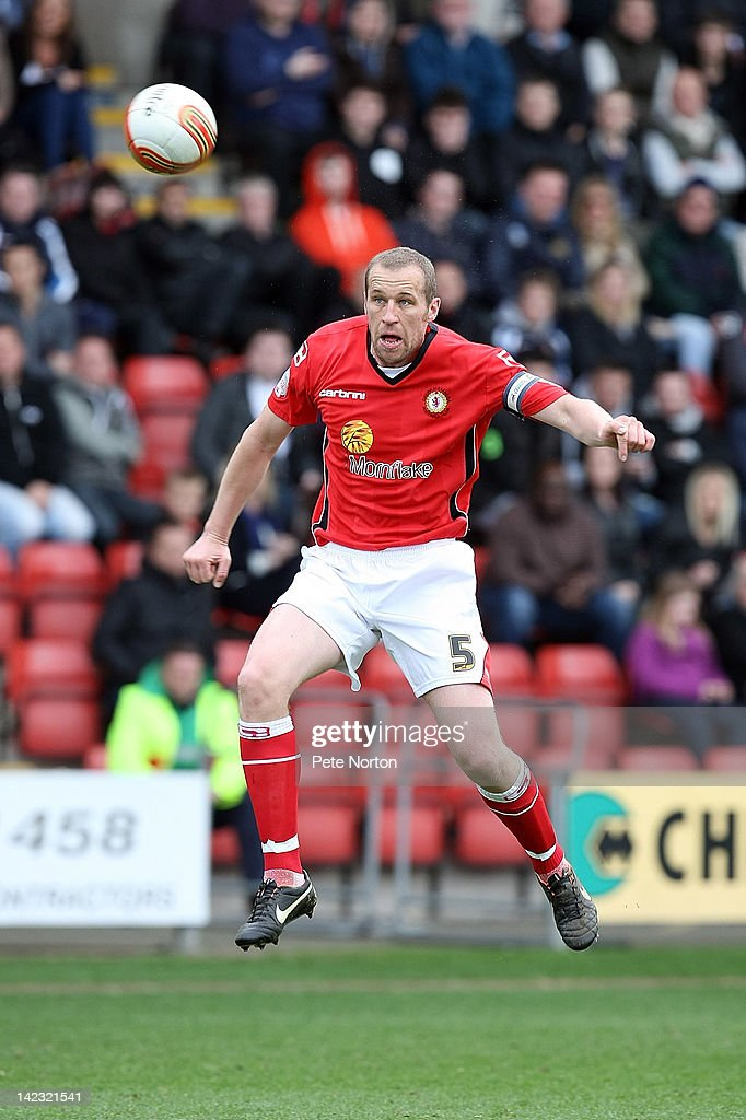 David Artell of Crewe Alexandra in action during the npower League Two match between Crewe Alexandra and Northampton Town at The Alexandra Stadium on March 31, 2012 in Crewe, England.