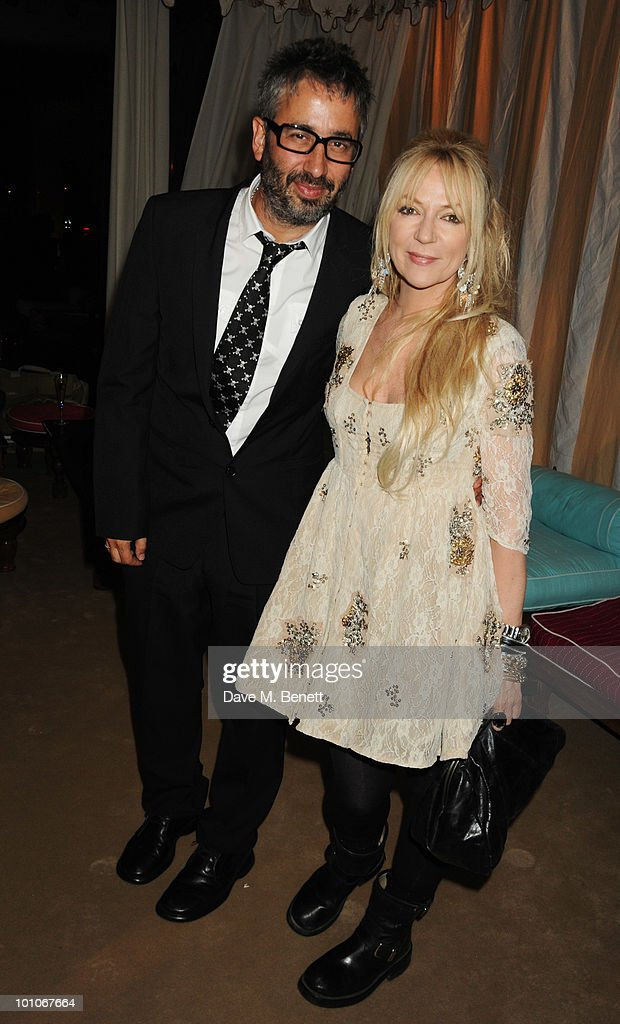 David Baddiel attends the afterparty following the UK film premiere of 'Sex and the City 2' at The Kensington Palace on May 27, 2010 in London, England.