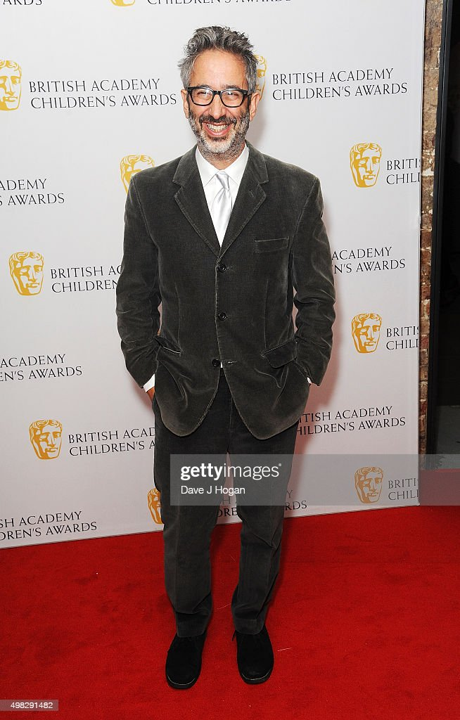 David Baddiel attends the British Academy Children's Awards at The Roundhouse on November 22 2015 in London England