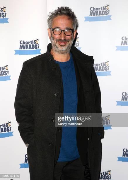 David Baddiel attends the Chortle Comedy Awards 2017 on March 20 2017 in London United Kingdom
