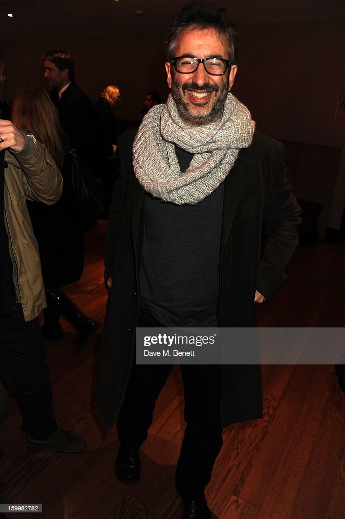 <a gi-track='captionPersonalityLinkClicked' href=/galleries/search?phrase=David+Baddiel&family=editorial&specificpeople=220869 ng-click='$event.stopPropagation()'>David Baddiel</a> attends the European Premiere of 'I Give It A Year' at Vue West End on January 24, 2013 in London, England.